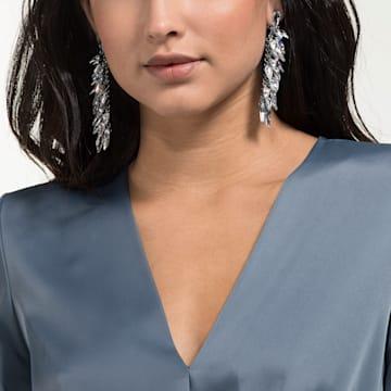 Polar Bestiary 夹式耳环, 彩色设计, 镀铑 - Swarovski, 5490238