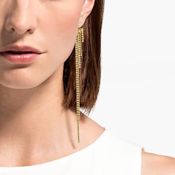 Orecchini Fit Wonder Woman, tono dorato, placcato color oro - Swarovski, 5492148