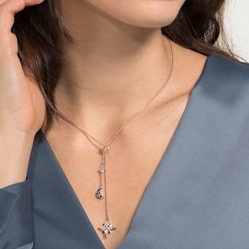 Collar en Y Swarovski Symbolic, multicolor, Baño en tono Oro Rosa - Swarovski, 5494357