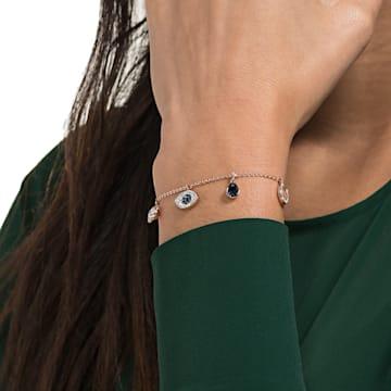 Braccialetto Swarovski Symbolic, multicolore, Placcato oro rosa - Swarovski, 5497668
