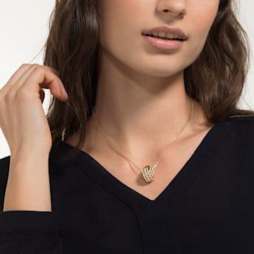 Further Halskette, Weiss, Goldlegierung - Swarovski, 5498997