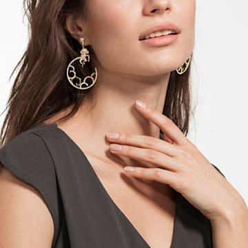 My Hero 穿孔耳環, 多色設計, 多種金屬潤飾 - Swarovski, 5500976
