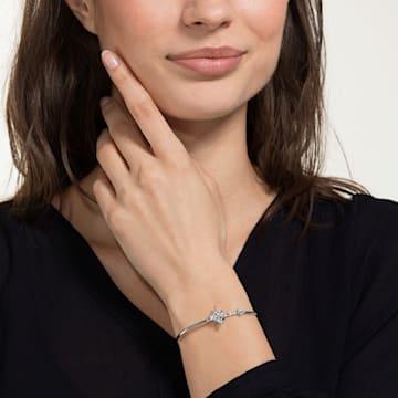 Swarovski Symbolic 手鐲, 白色, 鍍白金色 - Swarovski, 5511401