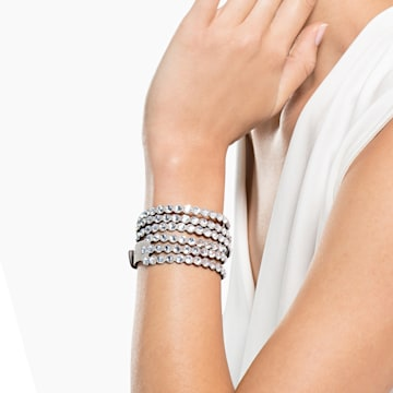 Swarovski Power Collection 手鏈, 淺灰色 - Swarovski, 5511698