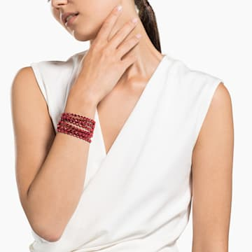 Swarovski Power Collection Bracelet, Light Red - Swarovski, 5511701
