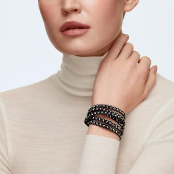 Swarovski Power Collection 手链, 黑色 - Swarovski, 5512512
