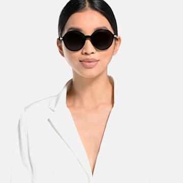 Okulary przeciwsłoneczne Swarovski, SK264 - 01B, Czarny - Swarovski, 5512851
