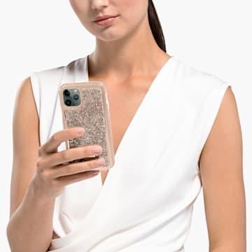Glam Rock Smartphone Schutzhülle mit Stoßschutz, iPhone® 11 Pro, roséfarben - Swarovski, 5515624