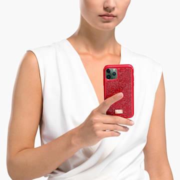 Funda para smartphone Glam Rock, iPhone® 11 Pro, rojo - Swarovski, 5515625