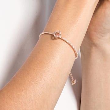 Swarovski Sparkling Dance-armband, Roze, Roségoudkleurige toplaag - Swarovski, 5516476