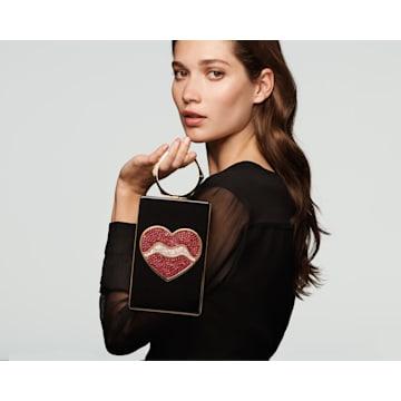 Surreal Dream Bag, Heart, Black - Swarovski, 5517023