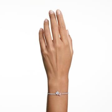 Attract Soul-armband, Roze, Rodium-verguld - Swarovski, 5517120