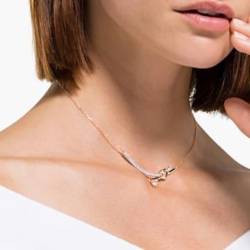 Lifelong Heart Колье, Белый Кристалл, Отделка из разных металлов - Swarovski, 5517951