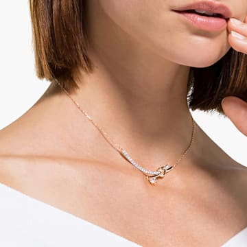 Lifelong Heart Halskette, weiss, Metallmix - Swarovski, 5517951