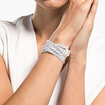Swarovski Power Collection Armband, weiss - Swarovski, 5518697