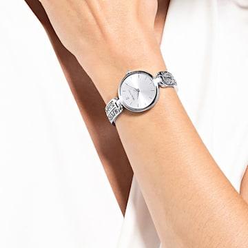Orologio Dream Rock, bracciale di metallo, tono argentato, acciaio inossidabile - Swarovski, 5519309