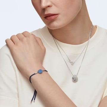 Collar Swarovski Infinity, blanco, baño de rodio - Swarovski, 5520576