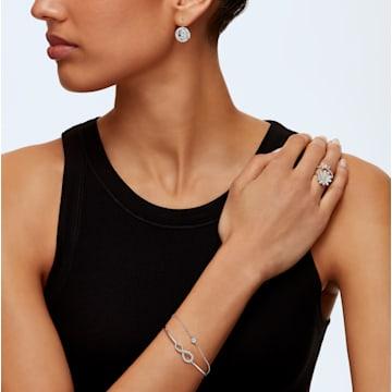 Swarovski Infinity-armband, Wit, Rodium-verguld - Swarovski, 5520584