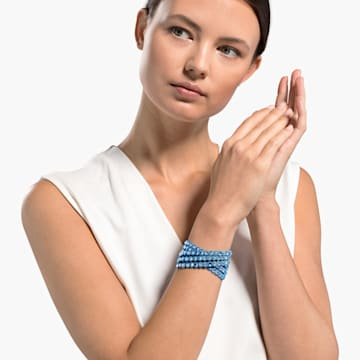 Pulsera Swarovski Power Collection, azul - Swarovski, 5523043