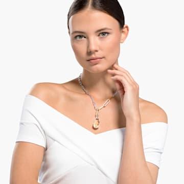 Colgante So Cool, blanco, combinación de acabados metálicos - Swarovski, 5523936