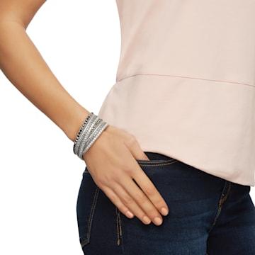 Slake Deluxe Bracelet, Gray - Swarovski, 5524009
