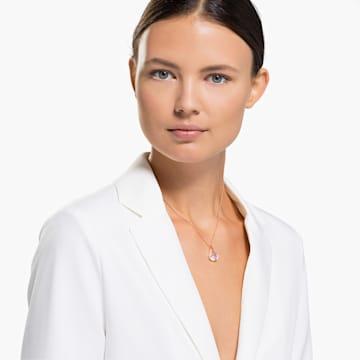 Spirit medál, fehér, rozéarany árnyalatú bevonattal - Swarovski, 5529125