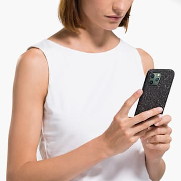 Custodia per smartphone High, iPhone® 11 Pro, nero - Swarovski, 5531144