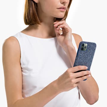 Étui pour smartphone High, iPhone® 11 Pro Max, bleu - Swarovski, 5531148