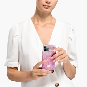 High Love-smartphone-hoesje, iPhone® 11 Pro, roze - Swarovski, 5531151