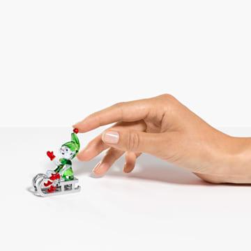 雪橇上的聖誕精靈 - Swarovski, 5533947