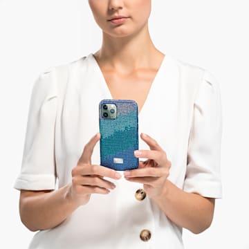 Crystalgram 智能手机防震保护套, iPhone® 11 Pro, 蓝色 - Swarovski, 5533958