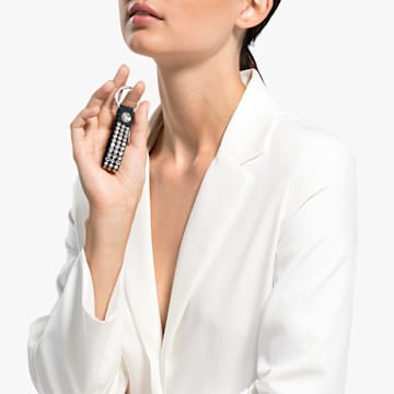 Swarovski Power Collection 钥匙扣, 黑色, 不锈钢 - Swarovski, 5534018