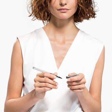 Crystalline Nova Rollerball Pen, 白色, 镀铬 - Swarovski, 5534320