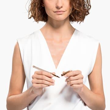 Crystalline Nova Rollerball Pen, 玫瑰金色调, 镀玫瑰金色调 - Swarovski, 5534325