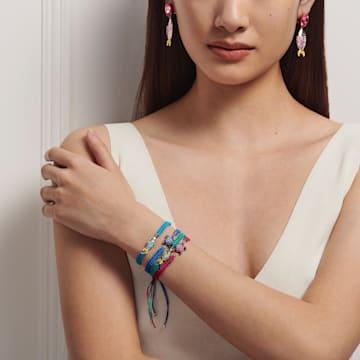 Mustique Sea Life Turtle Bracelet, Blue, Palladium plated - Swarovski, 5534342