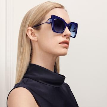Tigris-zonnebril, SK0271-P 90W, Blauw - Swarovski, 5535793