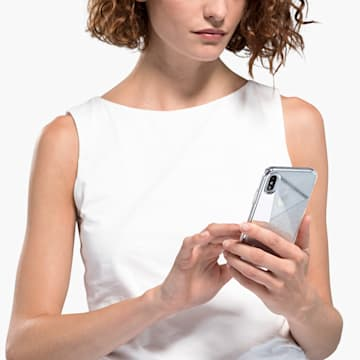 Subtle 智能手机防震保护套, iPhone® XS Max, 银色 - Swarovski, 5536848