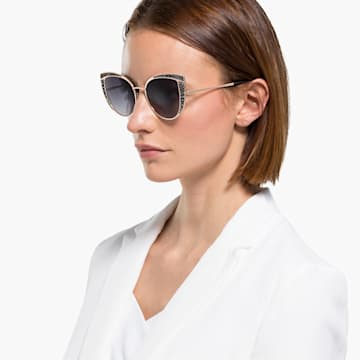 Swarovski 太阳眼镜, SK0282 32B, 灰色 - Swarovski, 5537323