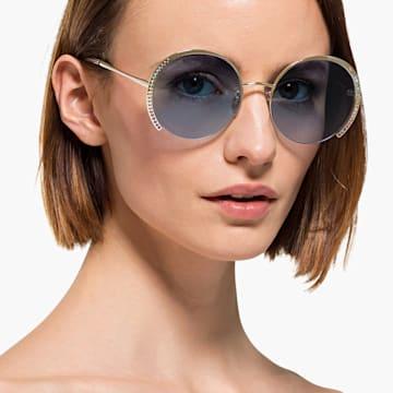 Swarovski Sonnenbrille, SK0280-H 32W, blau - Swarovski, 5537324
