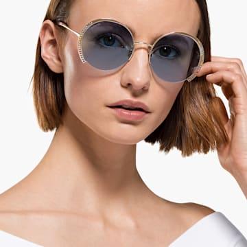 Sluneční brýle Swarovski, SK0280-H 32W, modré - Swarovski, 5537324