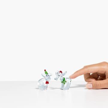 Świąteczne figurki Mo i Ricci, Coroczna Edycja 2020 - Swarovski, 5540695