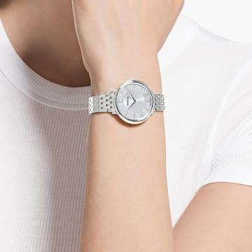 Reloj Crystalline Chic, Brazalete de metal, Tono plateado, Acero inoxidable - Swarovski, 5544583