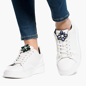Swarovski Shoe clips, Rhodium plated - Swarovski, 5556462