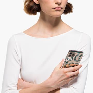 Custodia per smartphone con bordi protettivi Theatrical, iPhone® 11 Pro, verde - Swarovski, 5558712