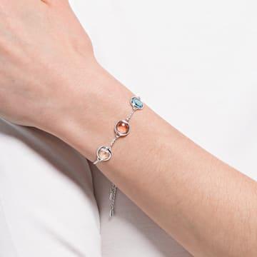 Tahlia Armband, Rund, Mehrfarbig, Rhodiniert - Swarovski, 5560937