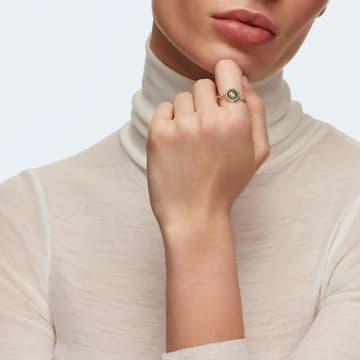 Pierścionek Tahlia, zielony, w odcieniu złota - Swarovski, 5560945