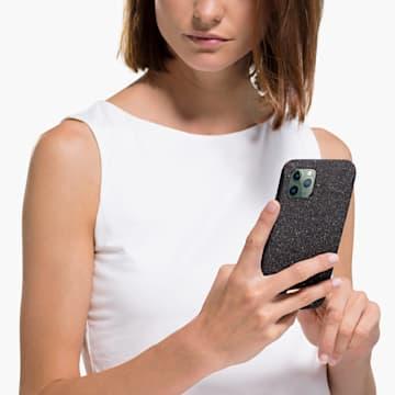 Étui pour smartphone High, iPhone® 12/12 Pro, noir - Swarovski, 5565185