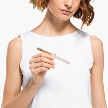 Kuličkové pero Crystalline Gloss, pozlacené růžovým zlatem - Swarovski, 5568753