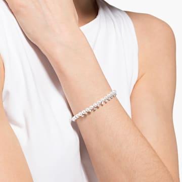 Treasure Pearl Armband, weiss, rhodiniert - Swarovski, 5572683
