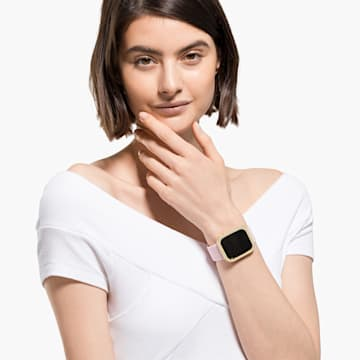 40mm Sparkling Apple Watch ® kompatibilis tok, arany árnyalat - Swarovski, 5599697